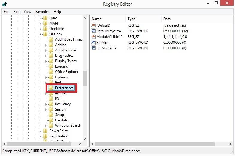رفع محدودیت حجم فایل پیوست در outlook