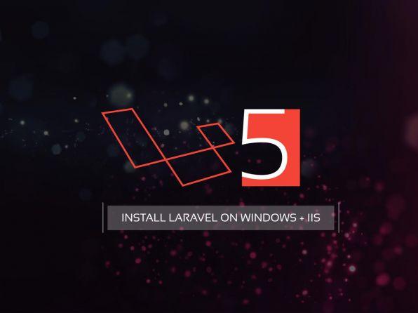 نصب لاراول روی ویندوز با IIS