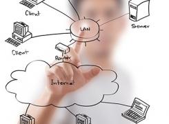 راه اندازی شبکه شرکت ها
