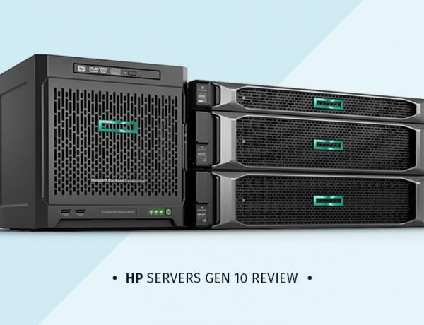 بررسی سرور اچ پی سری HP GEN 10